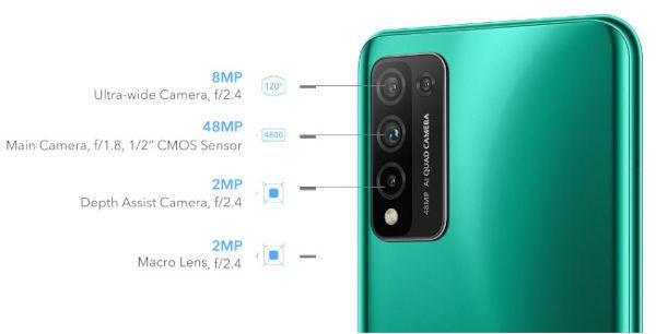 Honor 10X Lite rear camera