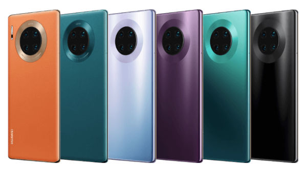Huawei Mate 30E Pro 5G in colors