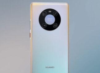 Huawei Mate 40 Pro rear