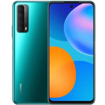 Huawei Y7a in Crush Green color