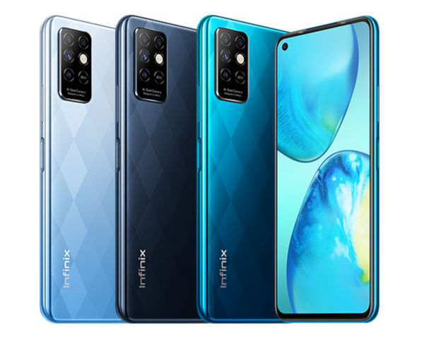 Infinix Note 8i in colors