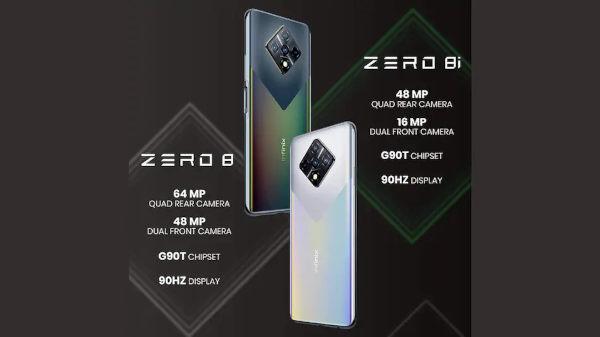 Infinix Zero 8 and 8i