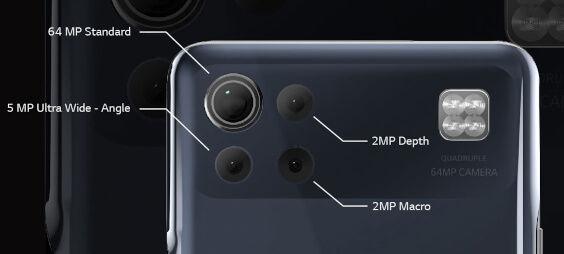 LG K92 5G camera