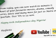 MTN Independence YouTube Data Plan