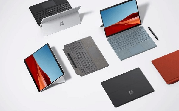 New Surface Pro X in colors