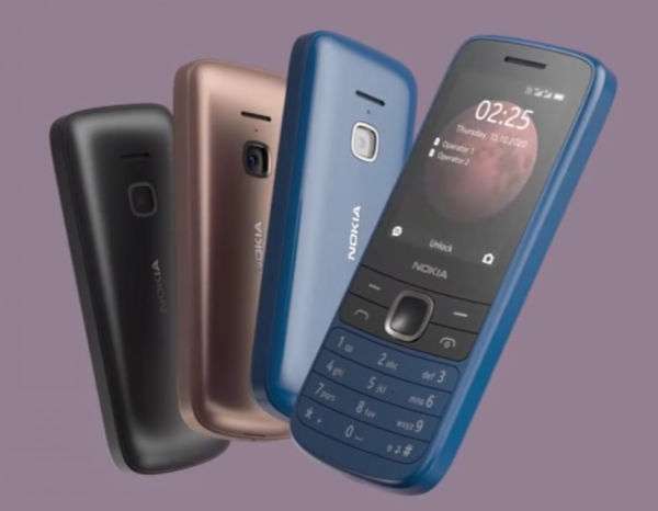 Nokia 225 4G in colors
