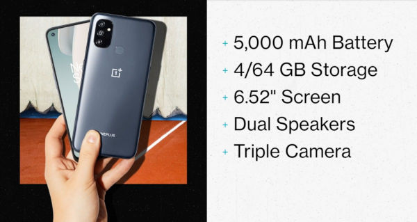 OnePlus Nord N100 launched 1