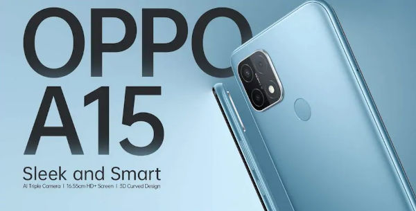 Oppo A15 launched