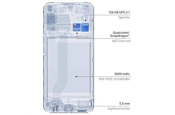 Oppo A53s design