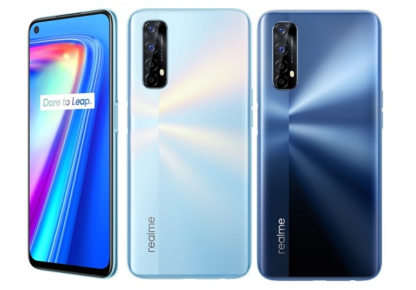 Realme 7 in colors