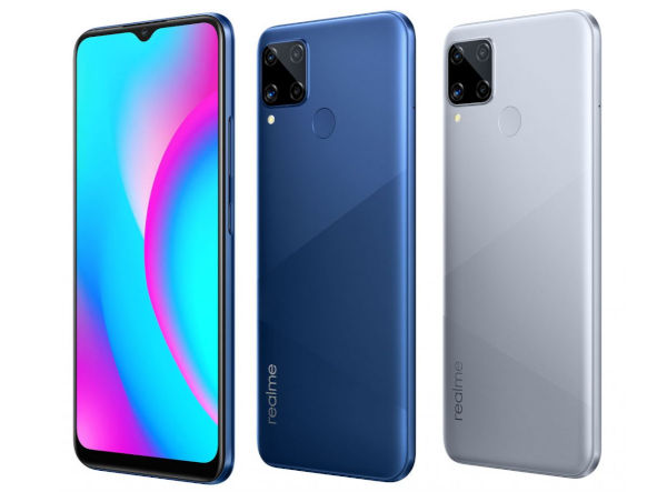 Realme C15 Qualcomm Edition in colors