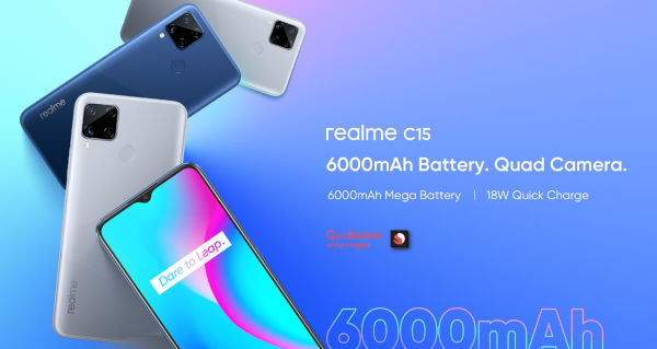 Realme C15 Qualcomm Edition launched