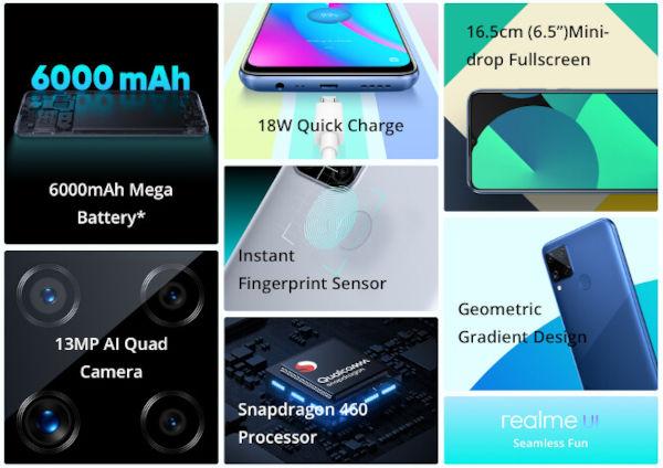 Realme C15 Qualcomm Edition specs