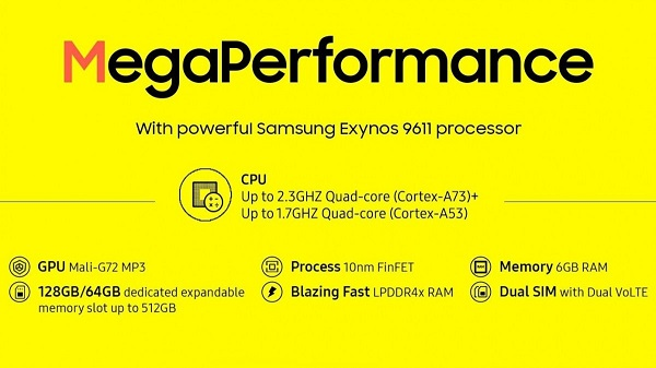 Samsung Galaxy M31 Prime performance
