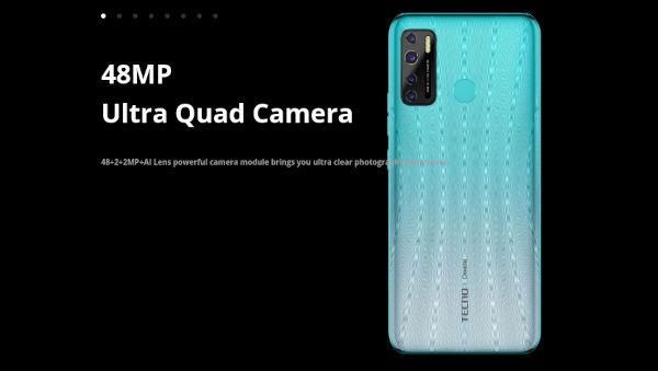 Tecno Camon 16 S camera
