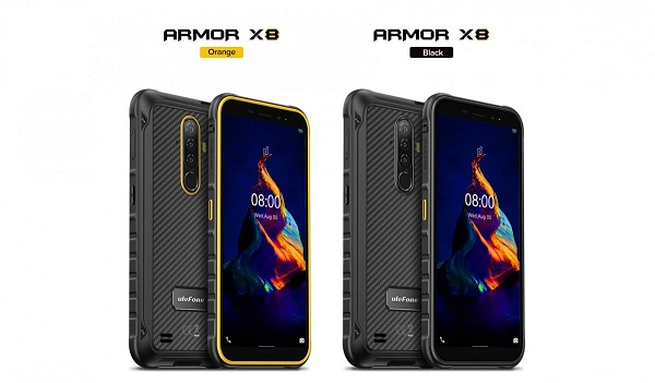 Ulefone Armor X8 in colors