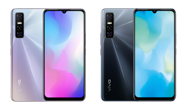 Vivo Y73s 5G in colors