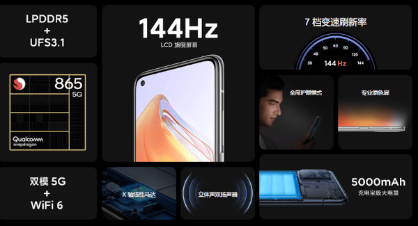 Xiaomi Redmi K30S specs