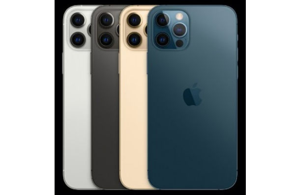 iPhone 12 Pro in colors