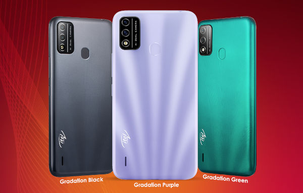 itel A48 in colors