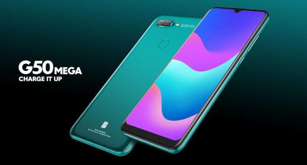 BLU G50 MEGA launched