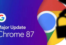 Chrome 87 update