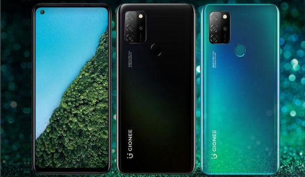 Gionee M12 in Colors