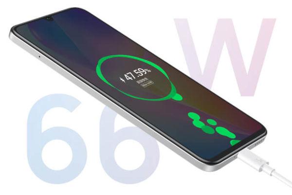 Huawei nova 8 SE charging
