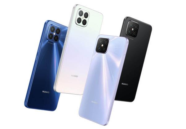 Huawei nova 8 SE in colors