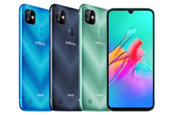 Infinix Smart HD in colors