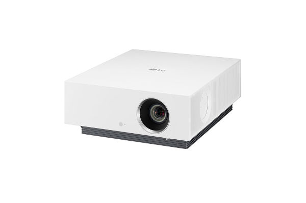 LG CineBeam Laser 4K HU810PW Projector front