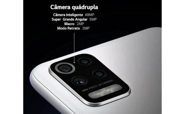 LG K62+ camera