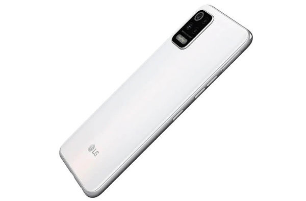 LG K62+ in white