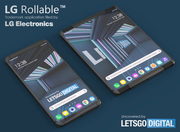 LG Rollable smartphone May Be called LG Rollable