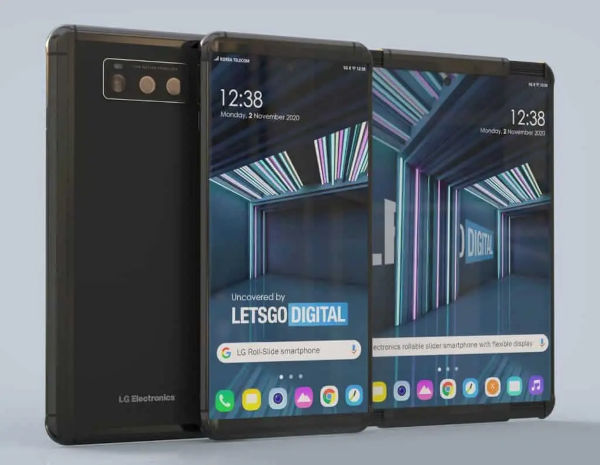 LG Smartphone With Roll up Display Appears Online 2