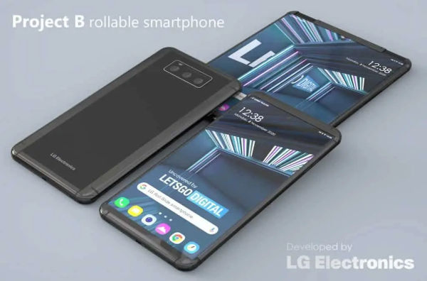 LG Smartphone With Roll up Display Appears Online 3