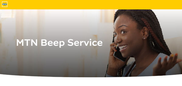MTN Beep Service launched