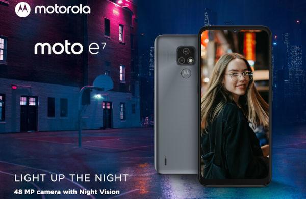 Moto E7 launched