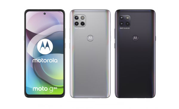 Motorola Moto G 5G in colors
