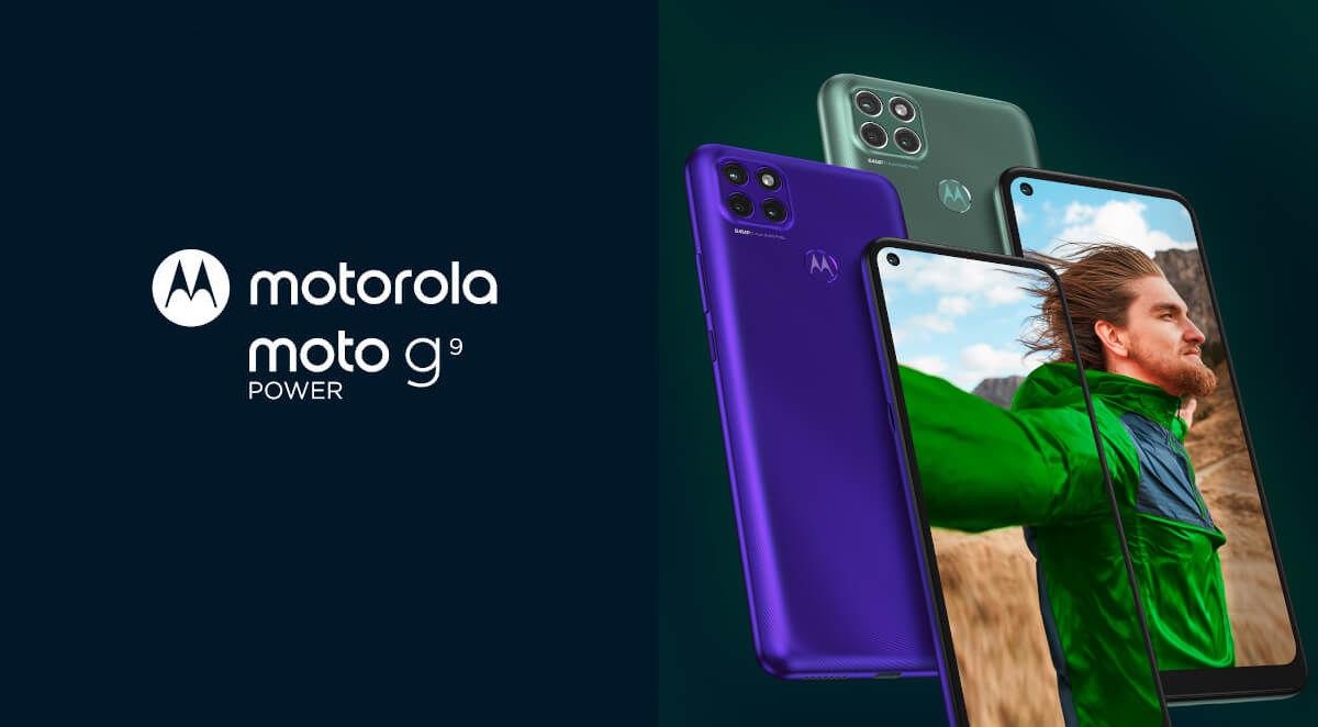 Motorola Moto G9 Power launched