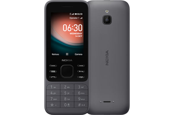 Nokia 6300 4G In Charcoal