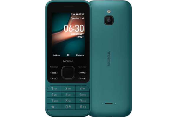 Nokia 6300 4G In Cyan Green