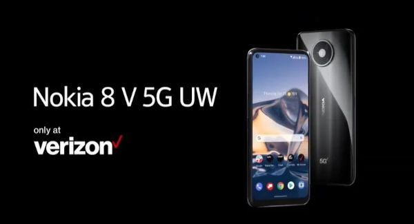 Nokia 8 V 5G UW launched
