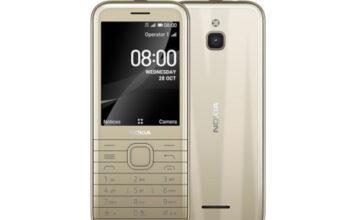 Nokia 8000 4G in Citrine Gold