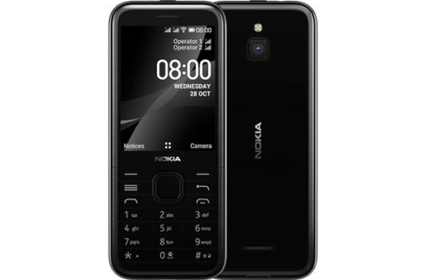 Nokia 8000 4G in Onyx Black