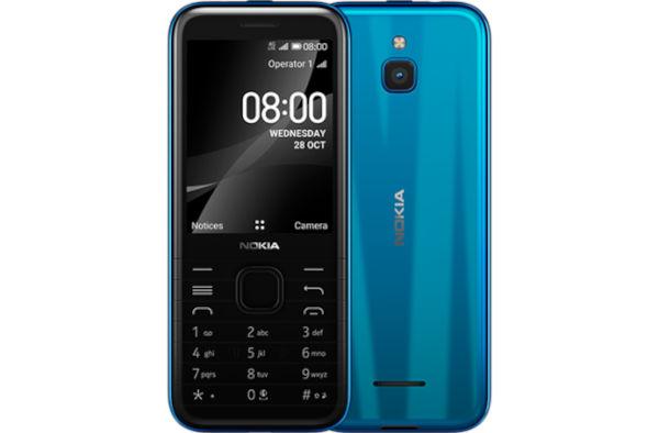 Nokia 8000 4G in Topaz Blue