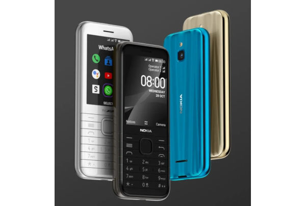 Nokia 8000 4G launched