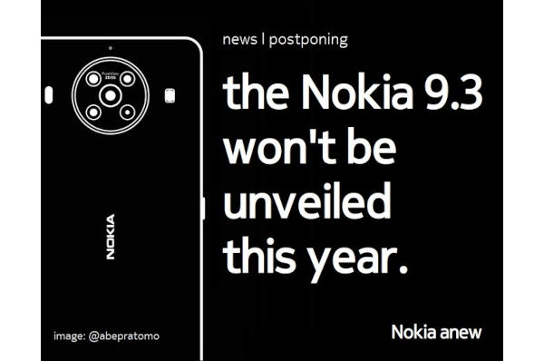 Nokia 9.3 Pureview launch reportedly postponed