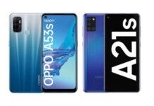 OPPO A53s vs Samsung Galaxy A21s