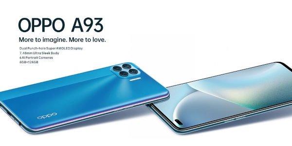 Oppo A93 launched